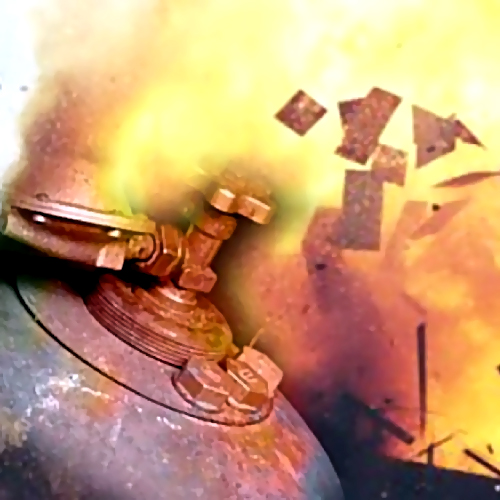 ВХабаровске отвзрыва газа пострадал мужчина