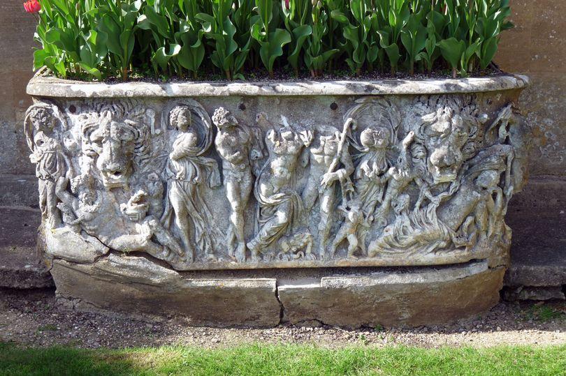 ВСоединенном Королевстве Великобритании случайно обнаружили древнеримский саркофаг, вкотором росли тюльпаны