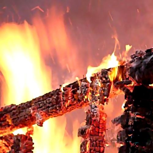 Нетрезвый гражданин Татарстана живьем сгорел вбане