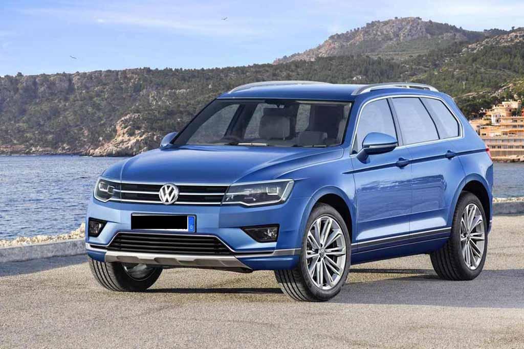 VW Touareg 3-го поколения покажут данной осенью