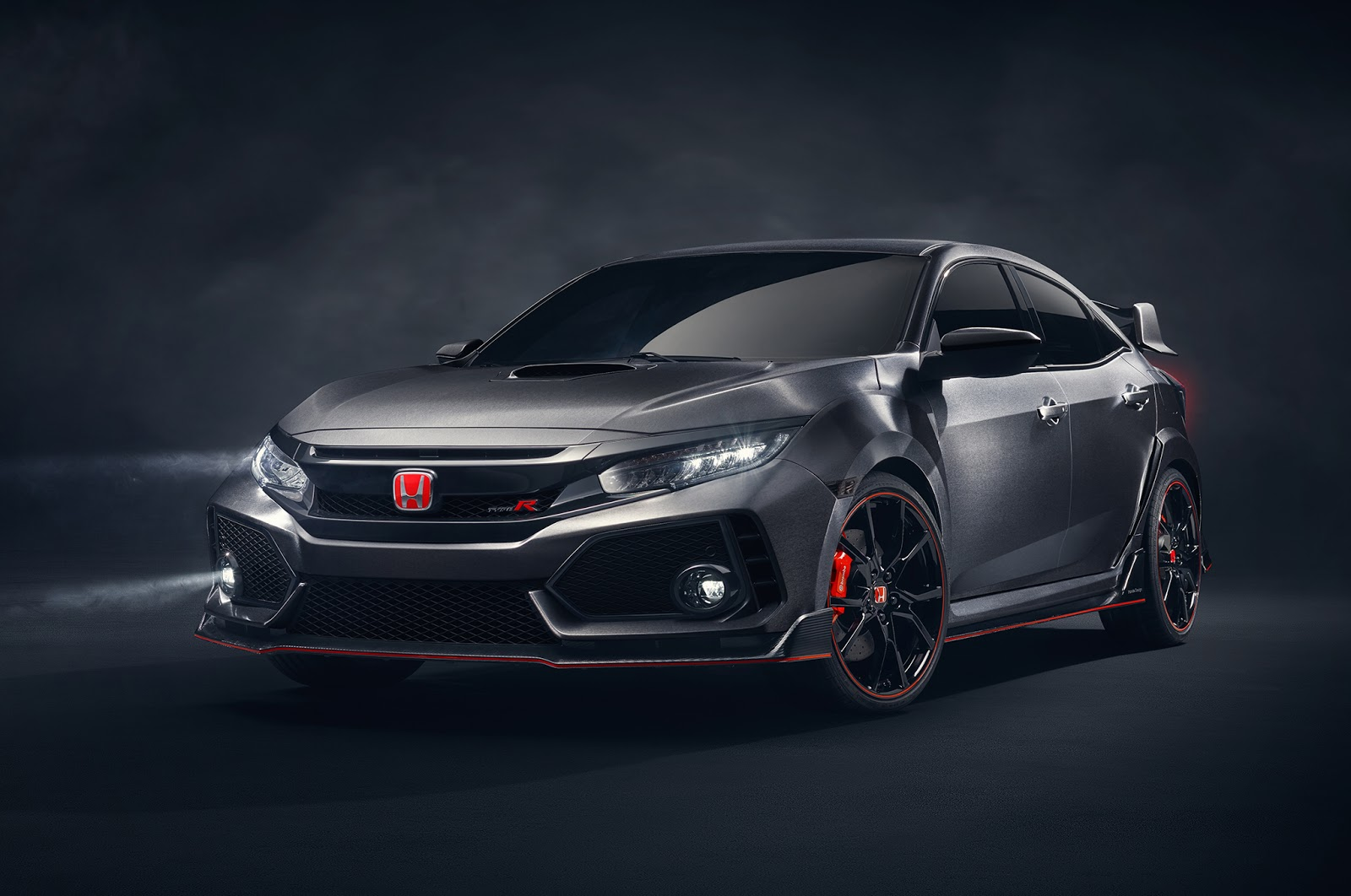 Хонда презентовала новый Civic Type R