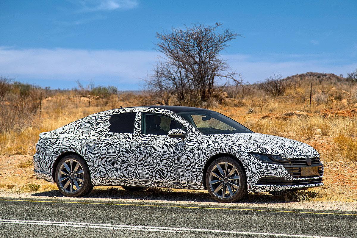 VW Arteon превратят вуниверсал