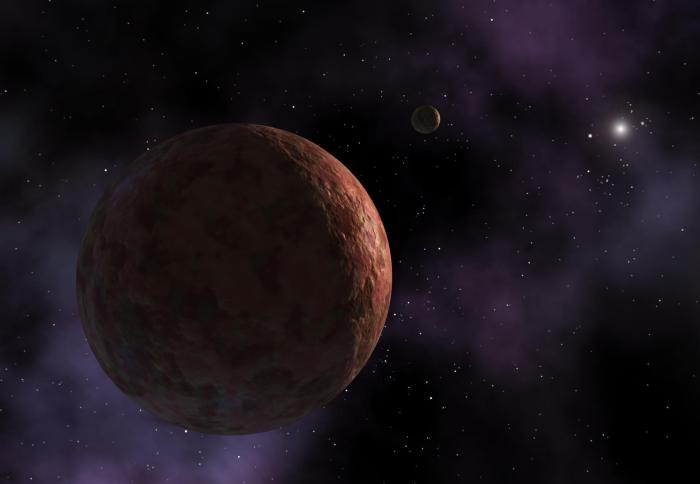 Астрономы назвали 3-ю повеличине карликовую планету Солнечной системы