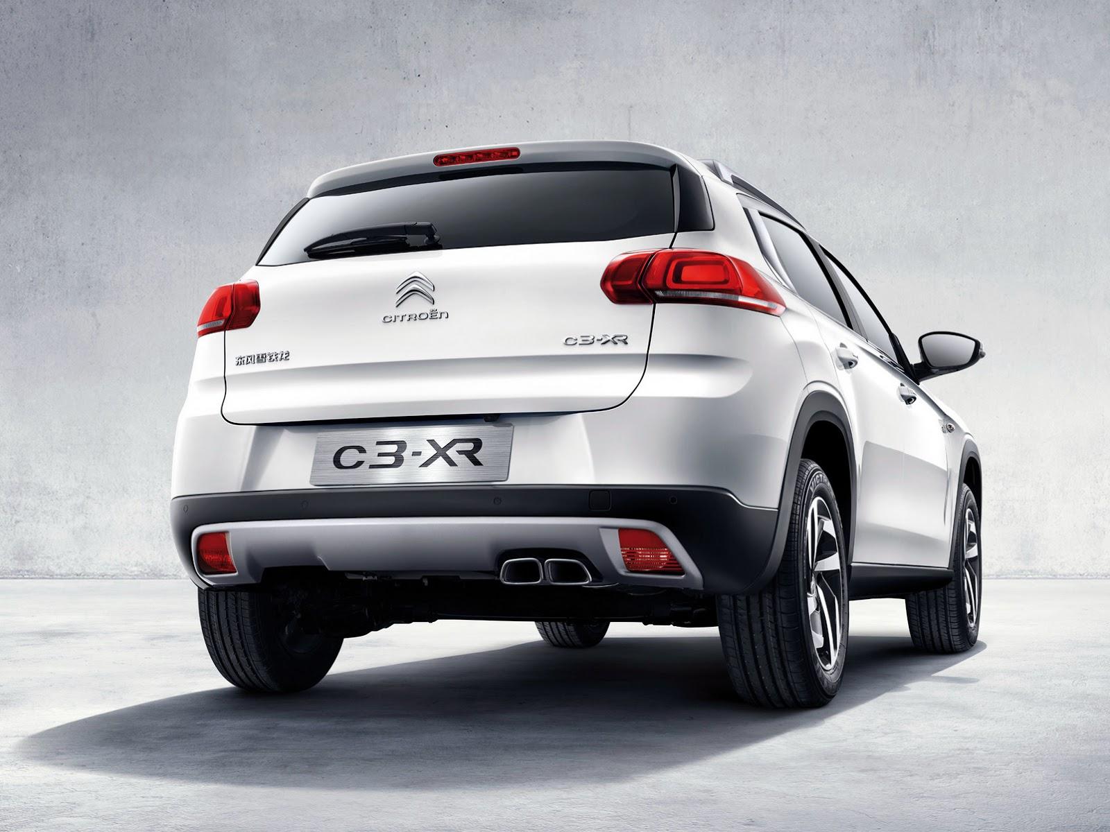 Ситроен выпустил специальную версию кроссовера C3-XR