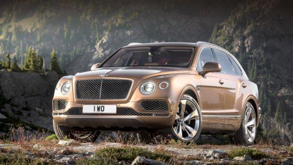 Первые кроссоверы Bentley Bentayga переданы владельцам