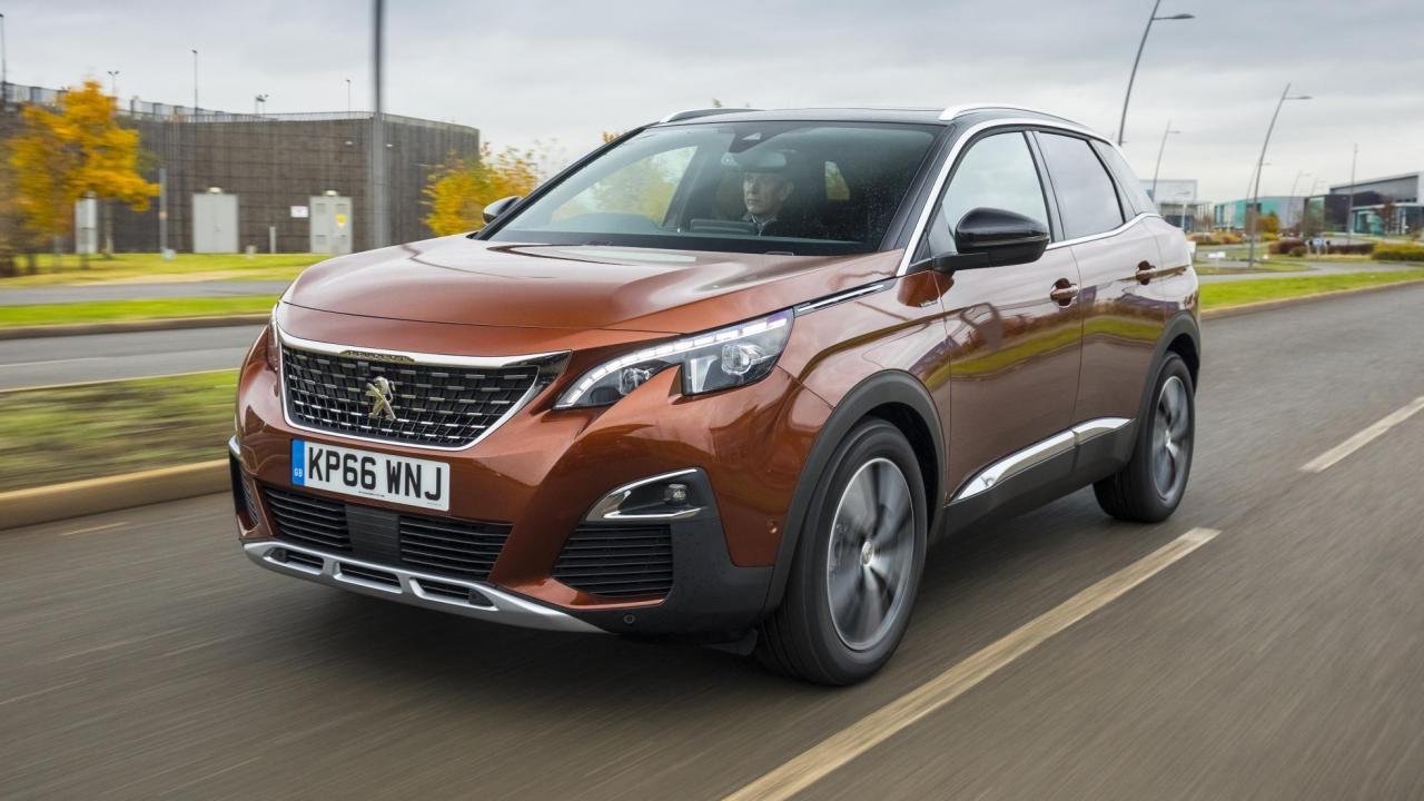 Peugeot (Пежо) 3008 вконце зимы вошел в 10-ку европейских бестселлеров