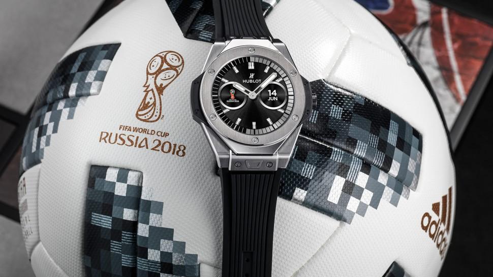 Судьи ЧМ-2018 получат смарт-часы Hublot за 5 тыс. долларов
