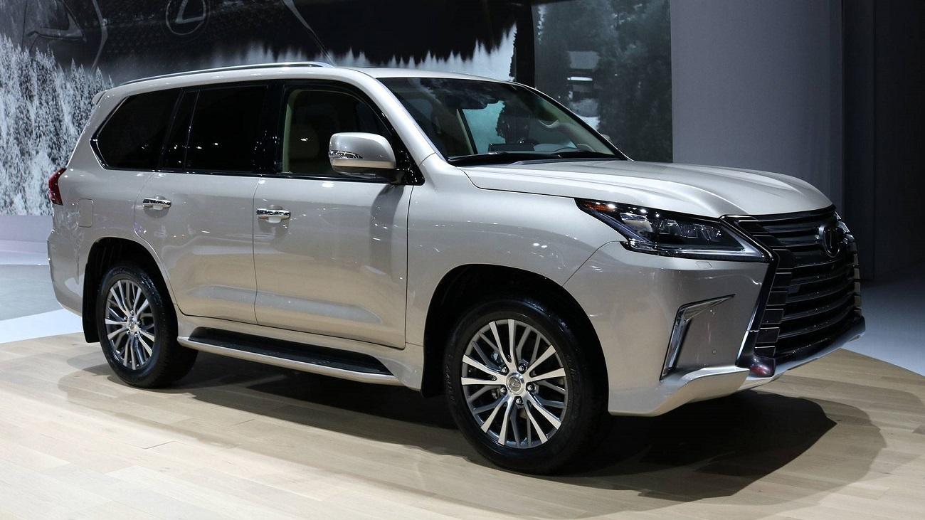 Озвучены цены нановый пятиместный вседорожный автомобиль Лексус LX570