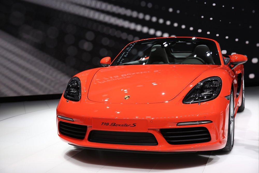 Porsche 718 Boxster дебютировал на автосалоне в Нью-Йорке