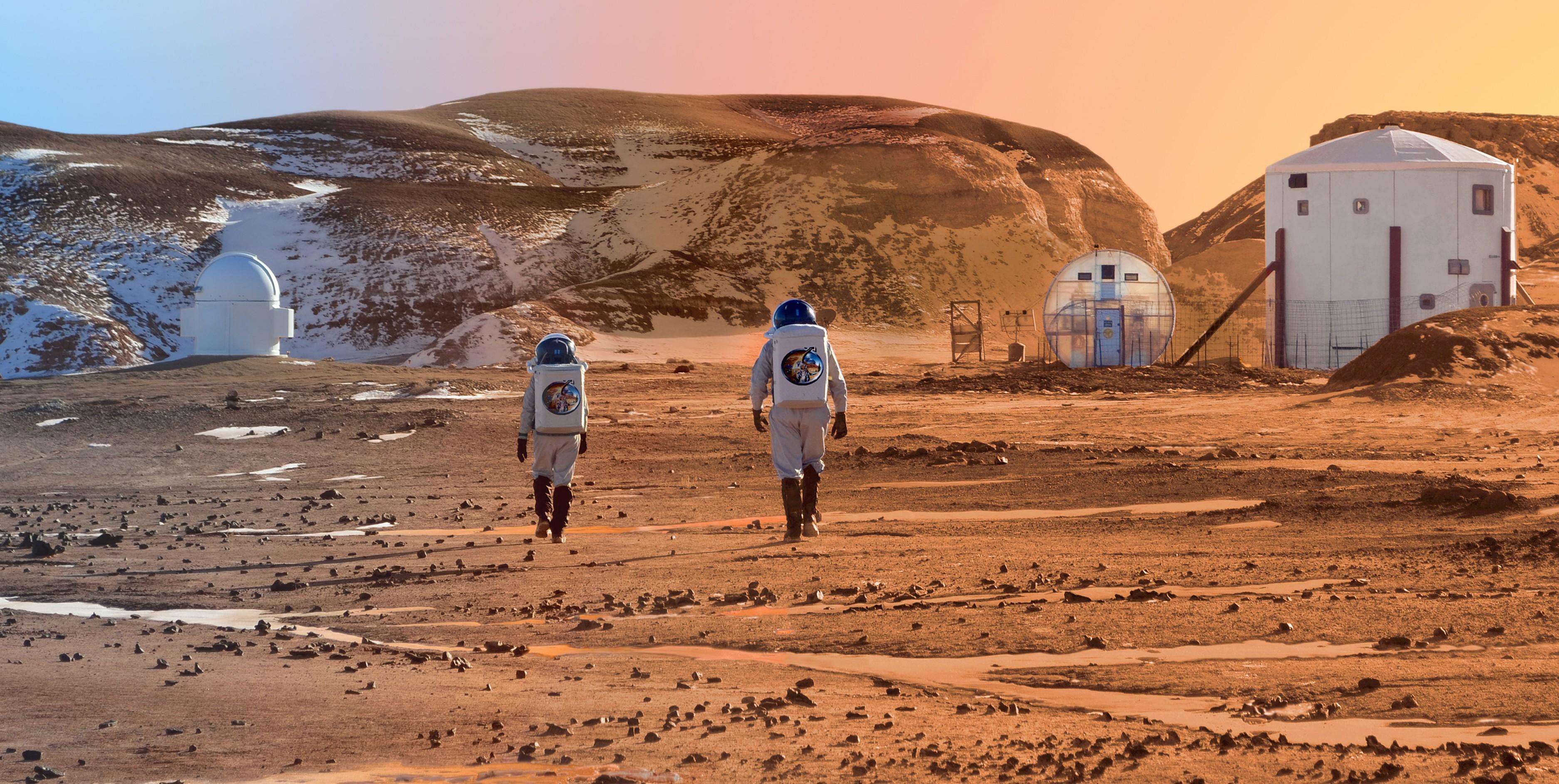НАСА делает необычайный скафандр для полета наМарс