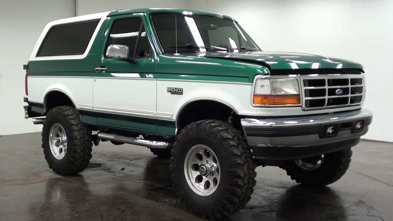 Форд возродит известный в90-х пикап Bronco