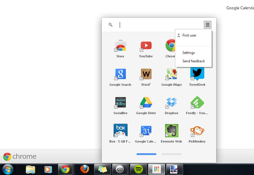 Google избавится от Chrome App Launcher