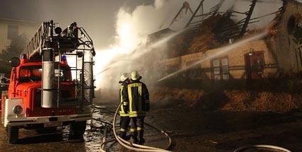 Дачный дом наплощади 210 кв.м. сгорел вНижегородской области