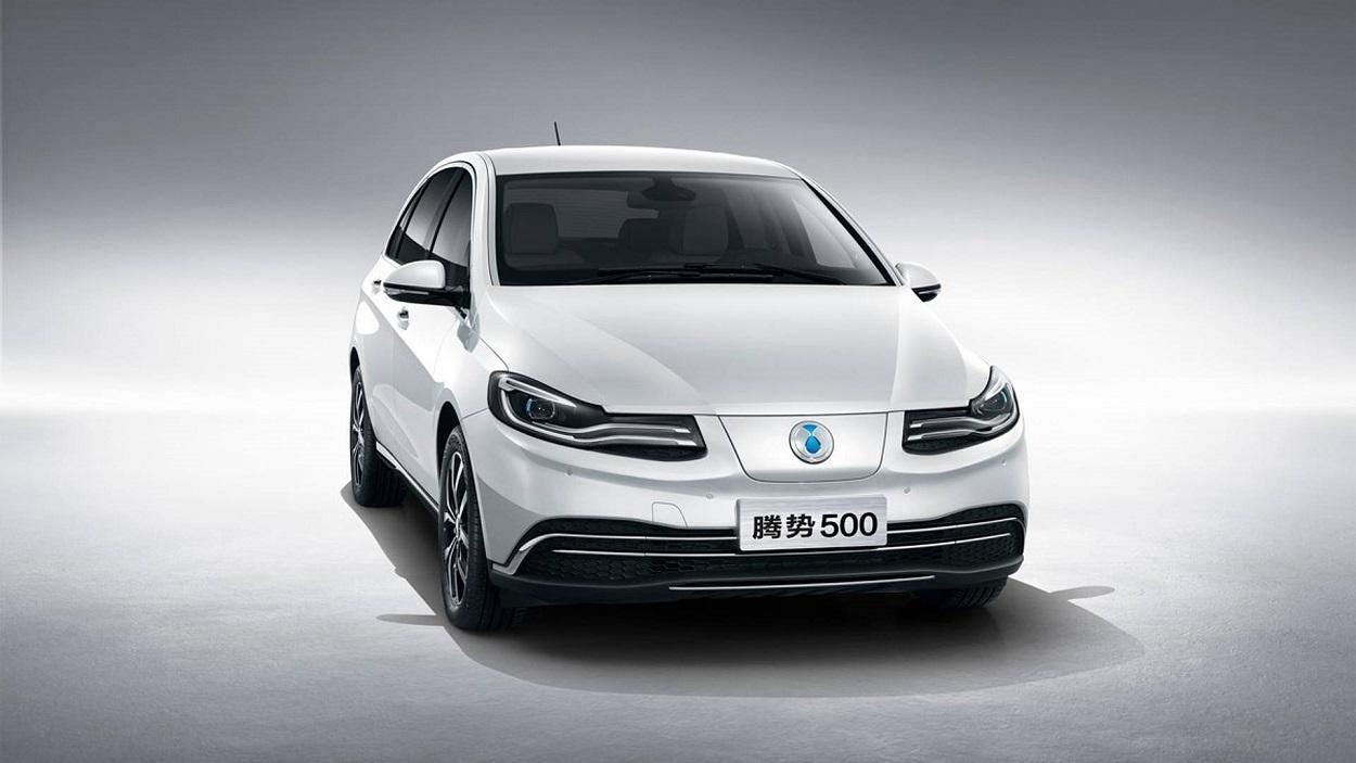 Daimler выпустил электрокар для китайского рынка