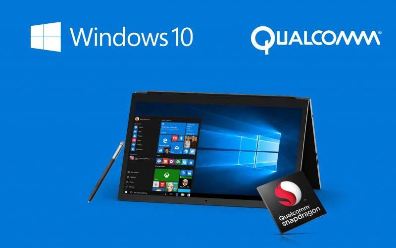 Qualcomm назвала три преимущества ноутбуков наWindows 10 сARM-процессором