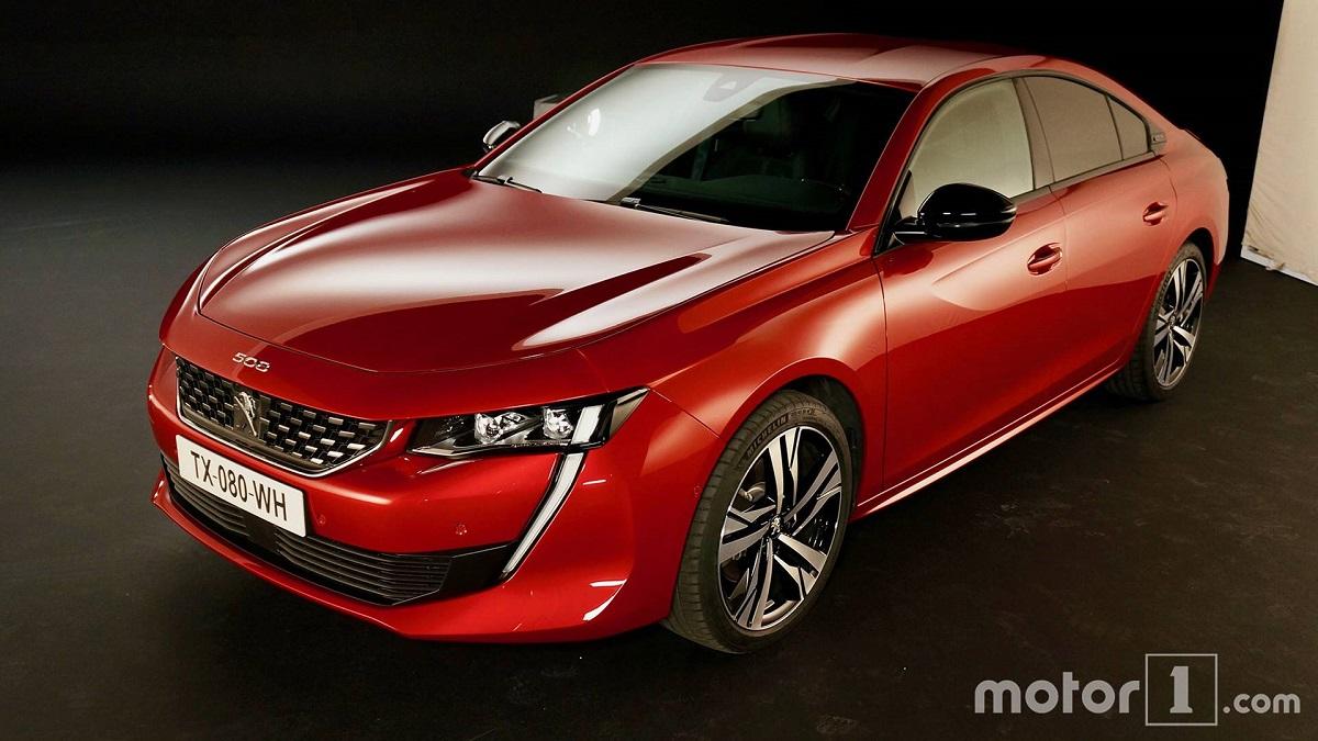 Новый Peugeot (Пежо) 508 получит «заряженную» версию