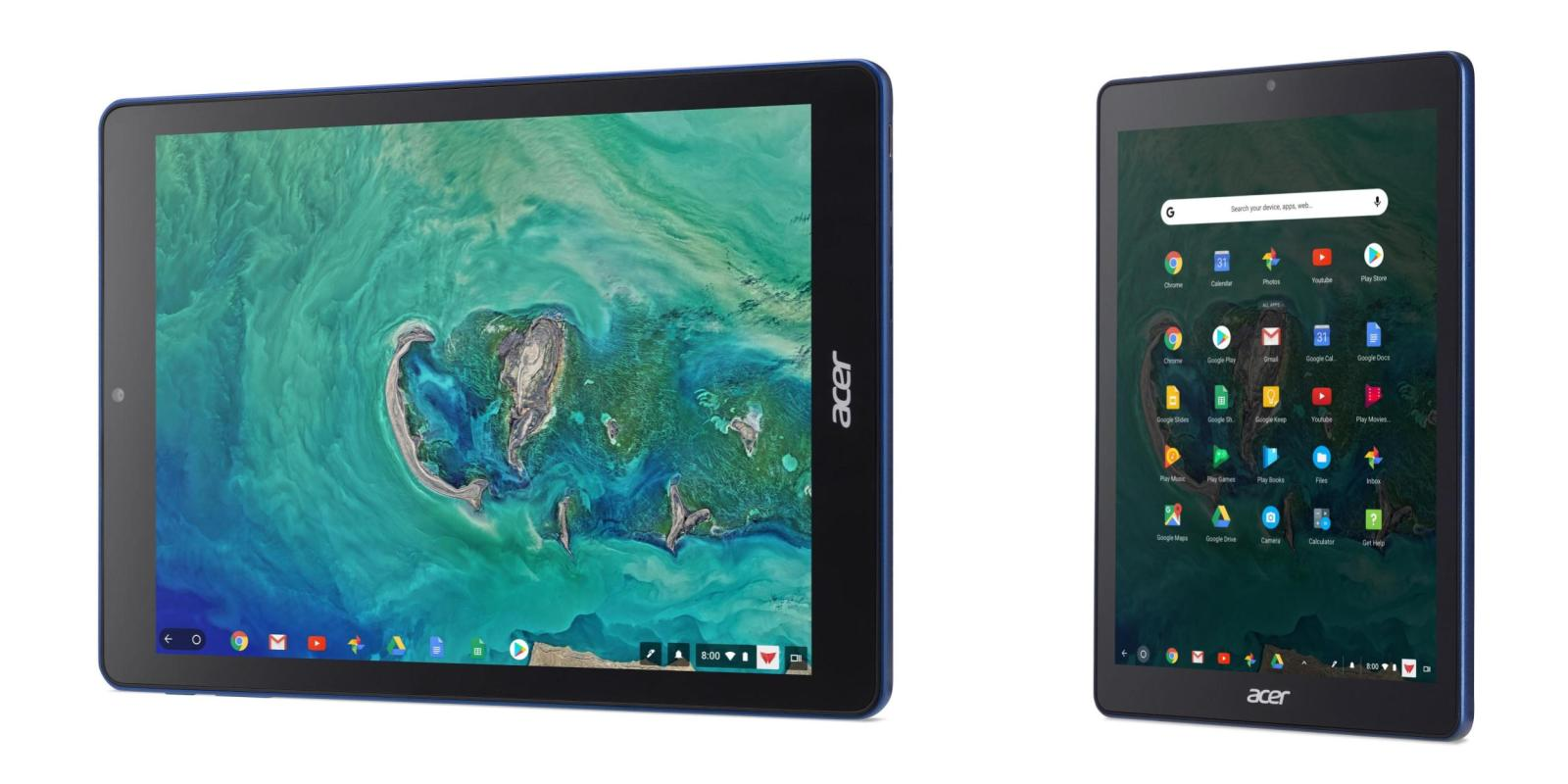 Acer выпустила планшет на базе Chrome OS
