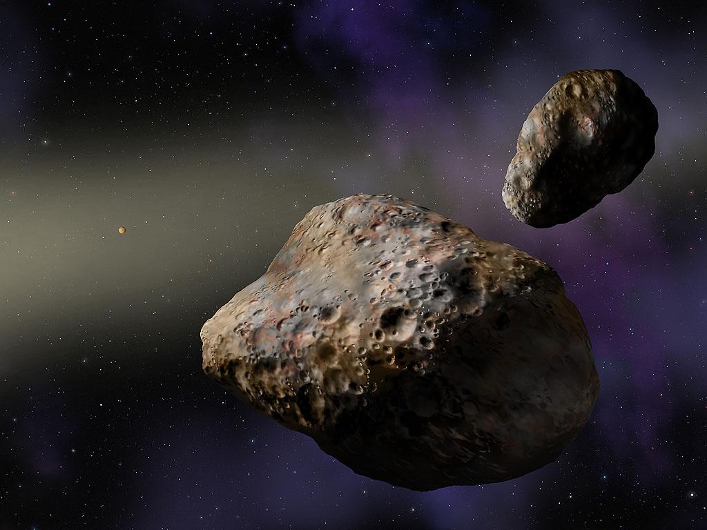 Удивительный астероид Bee-Zed «вскружил» Юпитер