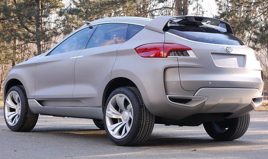 Компания FAW готовит новый кроссовер с индексом A-SUV