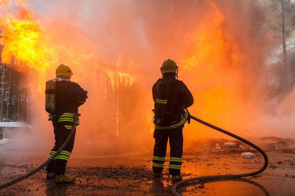Граждане деревянного дома пострадали в итоге пожара вУльяновской области