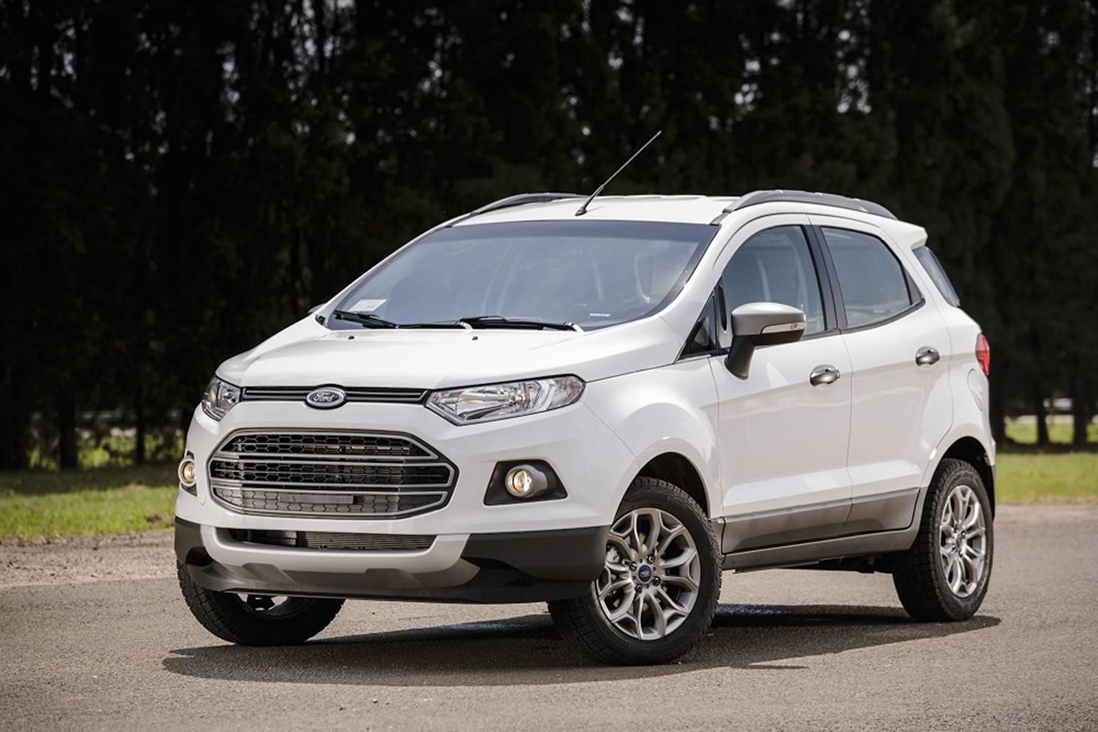 Вглобальной web-сети появились новые фотографии улучшенного Форд Ecosport