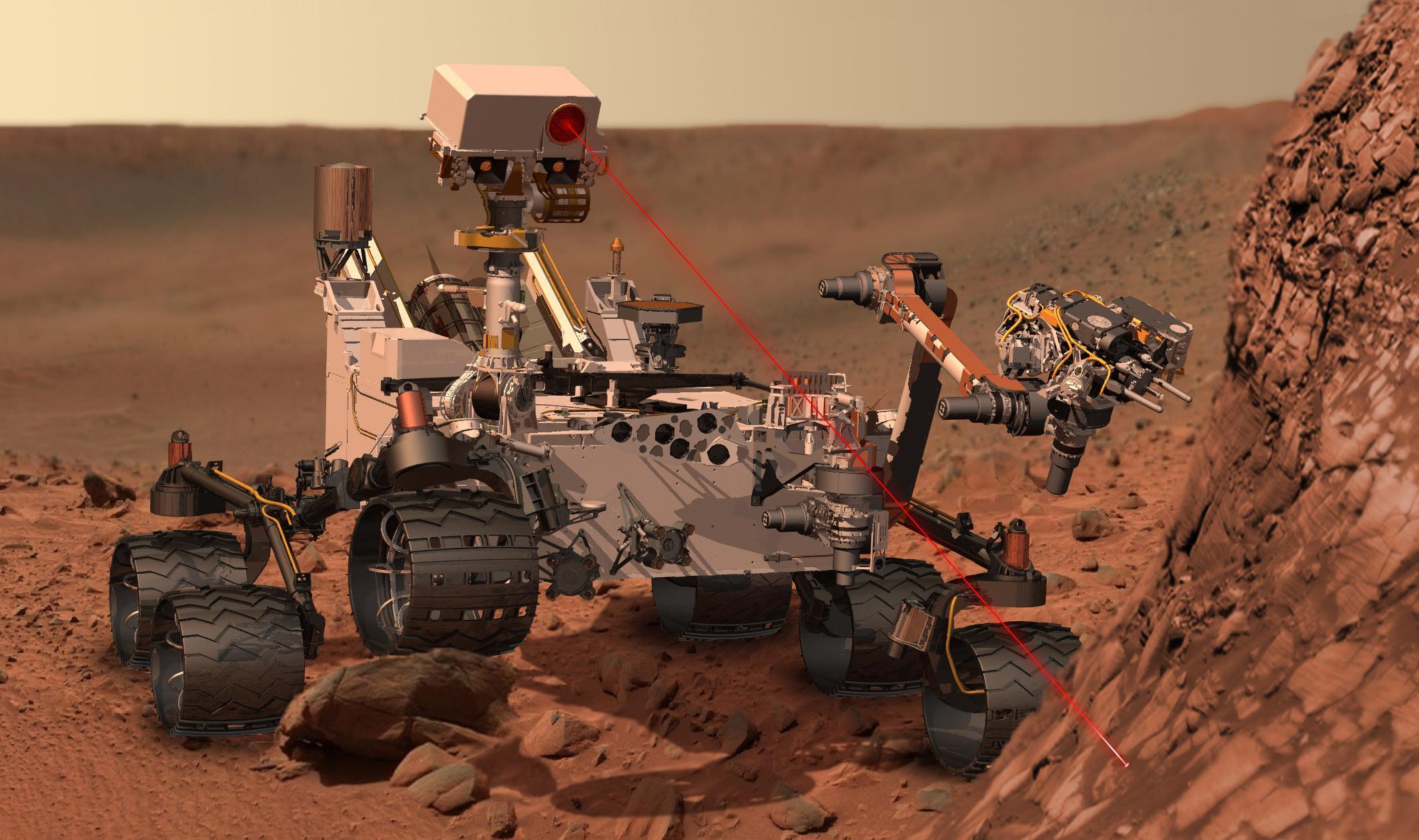 ВNASA посоветовали использовать марсоход как гнездо для дронов