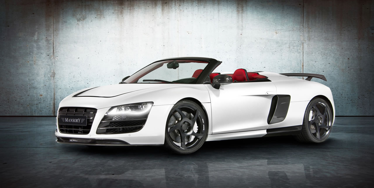 Foslta модернизировал Audi R8 V10 Spyder
