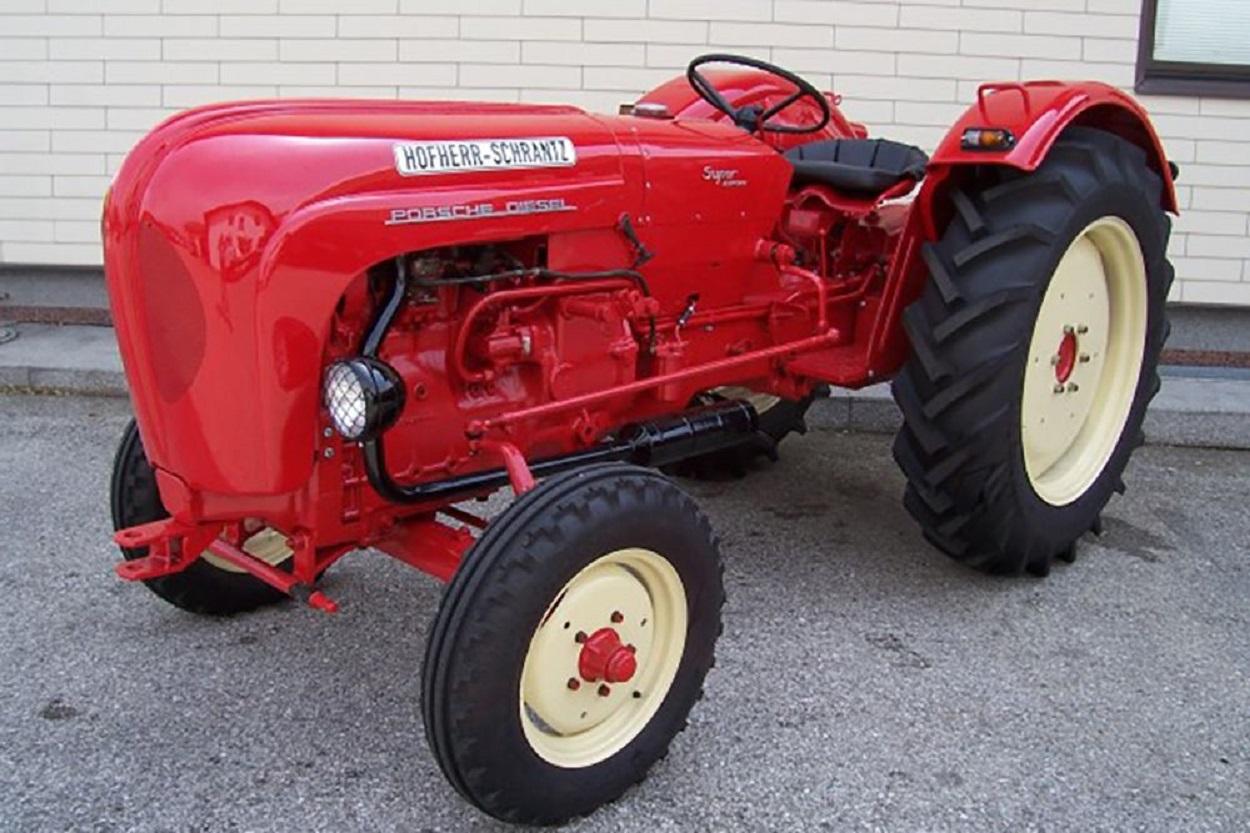 Компания Порше сообщила онамерении выпустить трактор