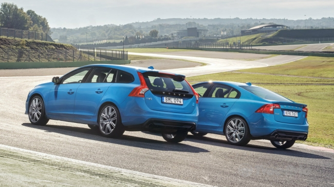 Volvo обновила заряженный универсал V60 Polestar