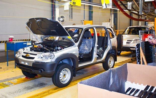 Продажи Chevrolet Niva в I квартале 2016 года упали на 16,3