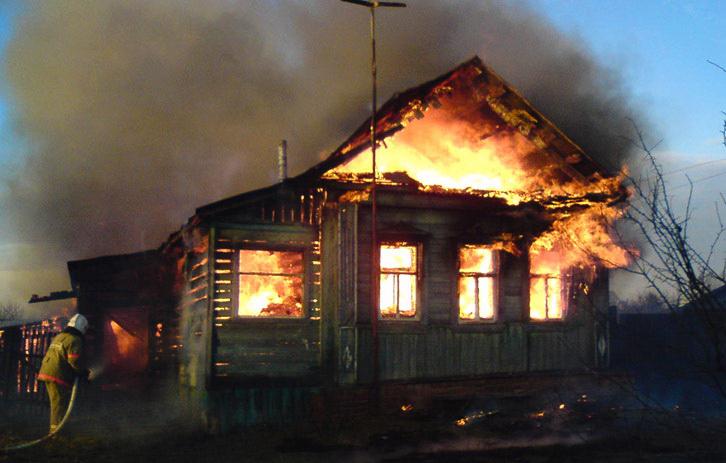 Сгорел откурения гражданин Мошковского района