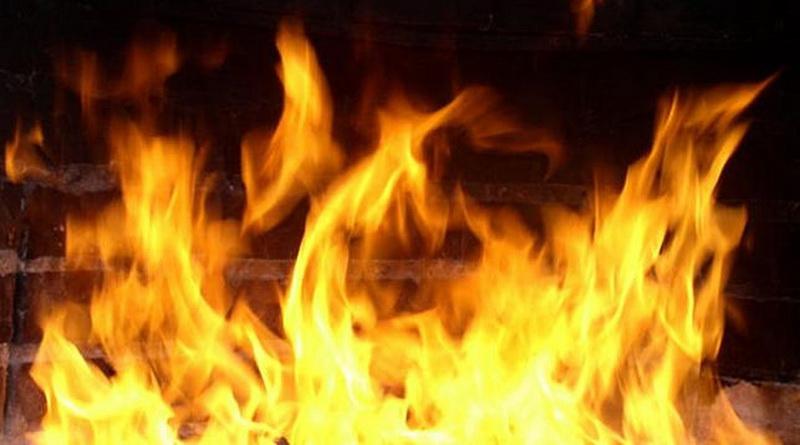 Впожаре вКанашском районе погибли двое мужчин