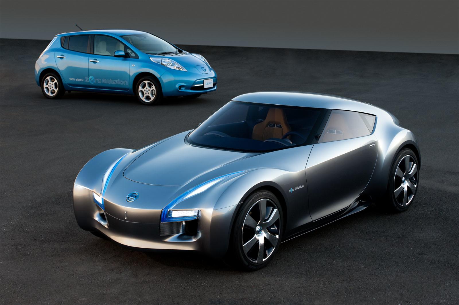 Nissan планирует захватить рынок электромобилей