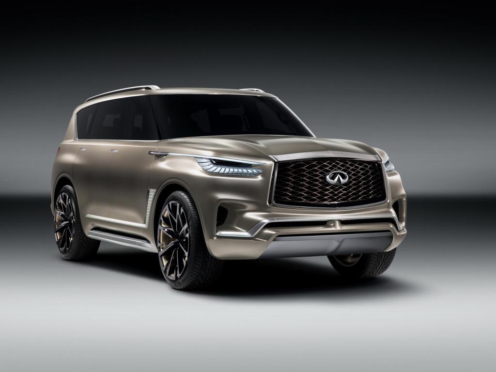 Первое изображение— Новый вседорожный автомобиль Инфинити