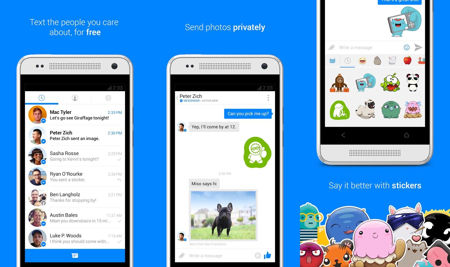 Социальная сеть Facebook  запустит чат-боты для Messenger