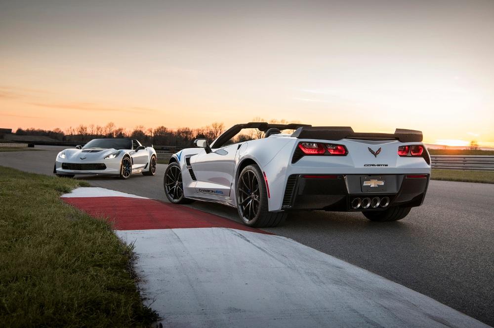 Chevrolet сделает 650 карбоновых Corvette к юбилею модели