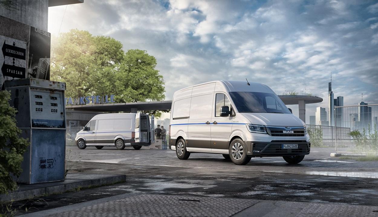 Volkswagen-MAN выпустит электрический фургон