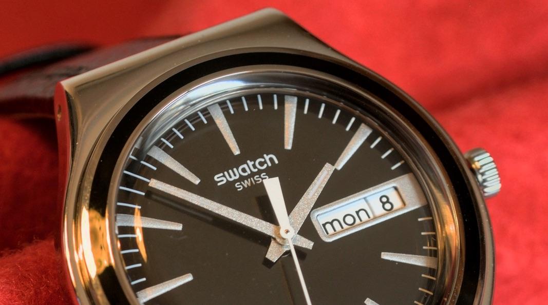 Apple подаст всуд наSwatch засхожее звучание рекламных слоганов