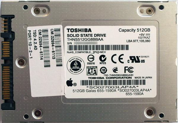 Apple может приобрести долю вподразделении Toshiba