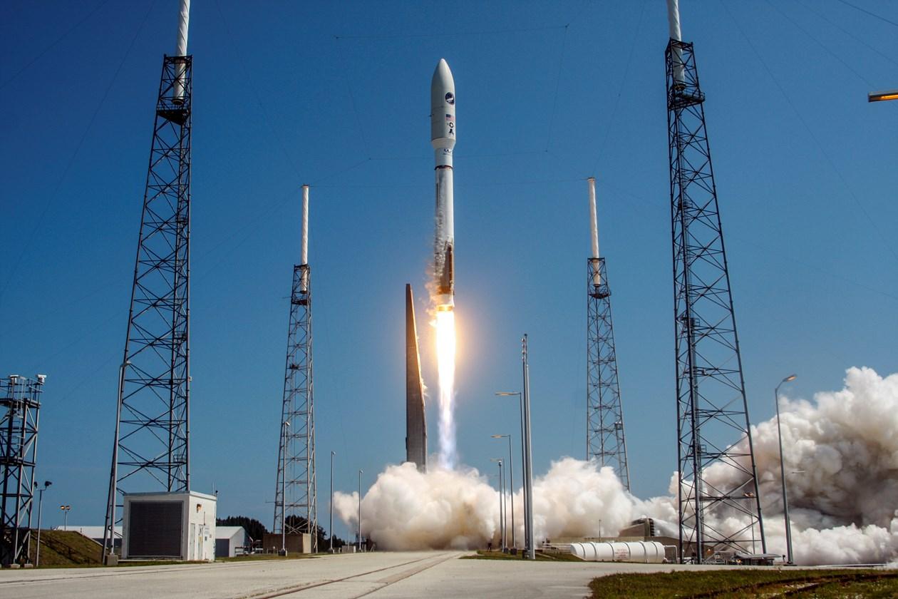 Ракета Atlas Vвывела нарасчетную орбиту космический фургон Cygnus