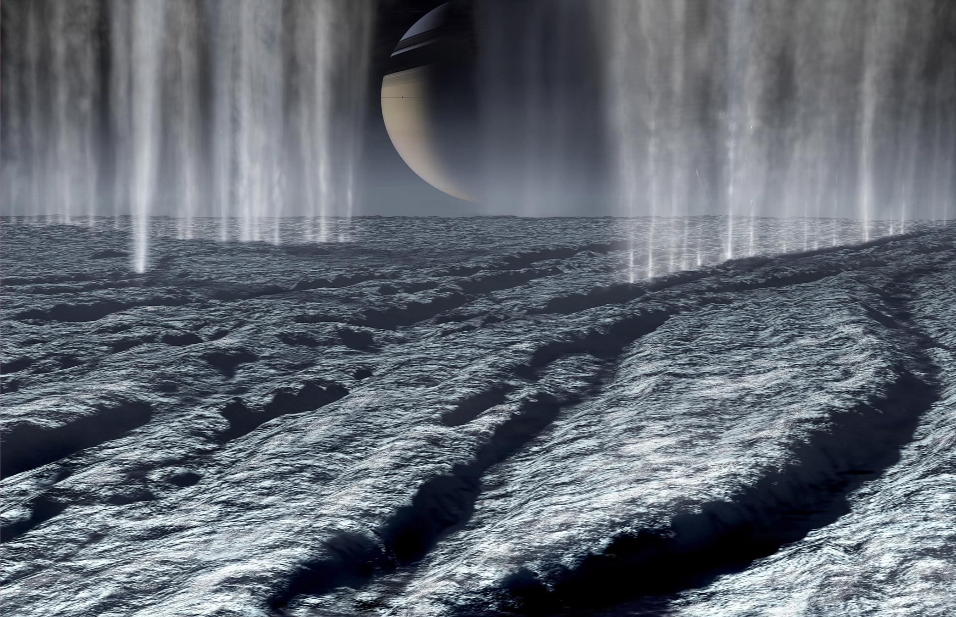 Ученые предположили наличие жизни наспутниках Сатурна иЮпитера