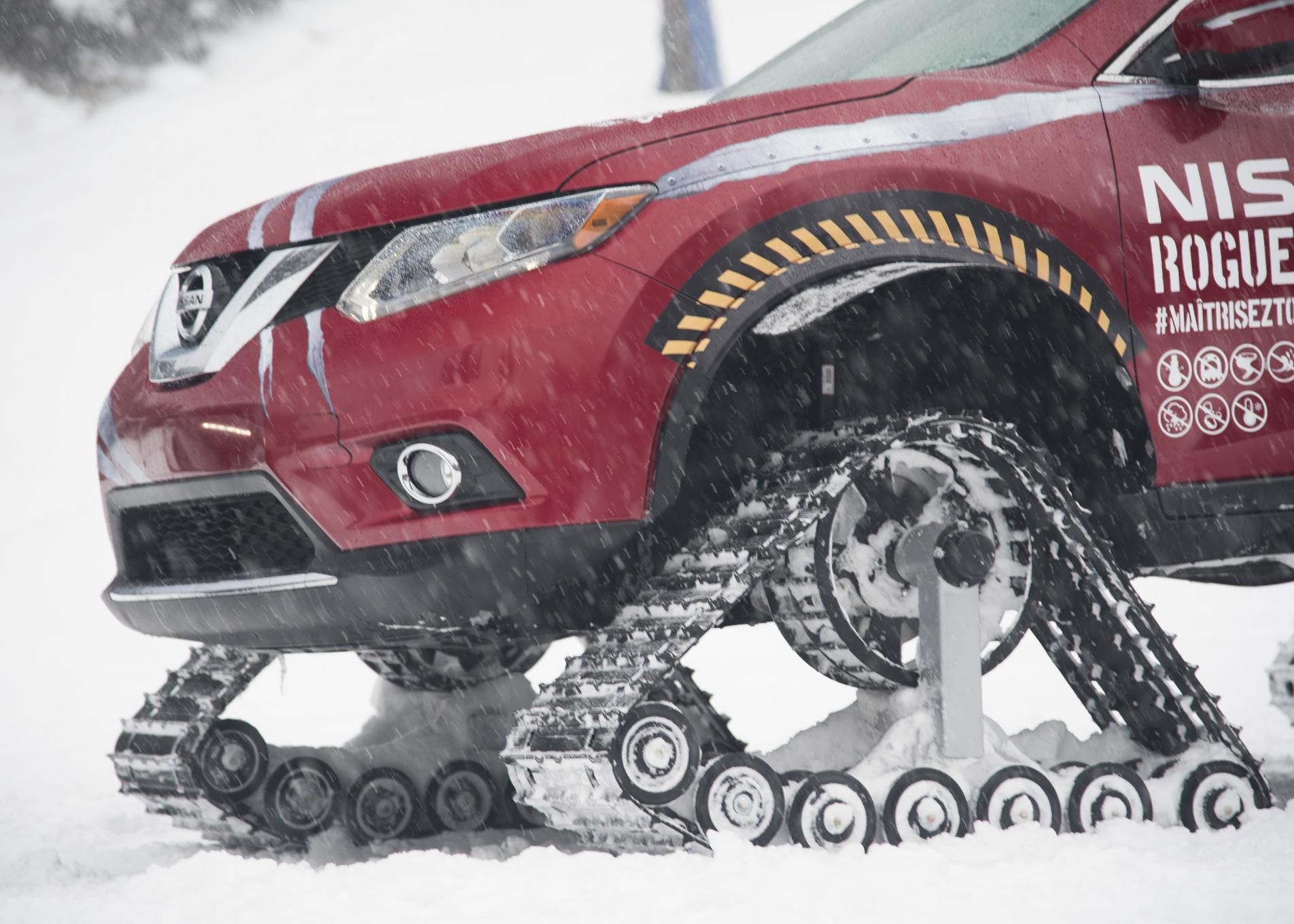 Ниссан  представляет новый проект X-Trail Trail Warrior