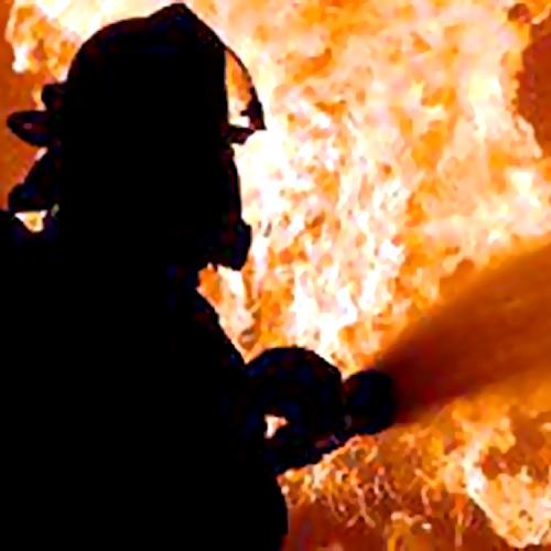 ВМосковской области впожаре вбане пострадал мужчина