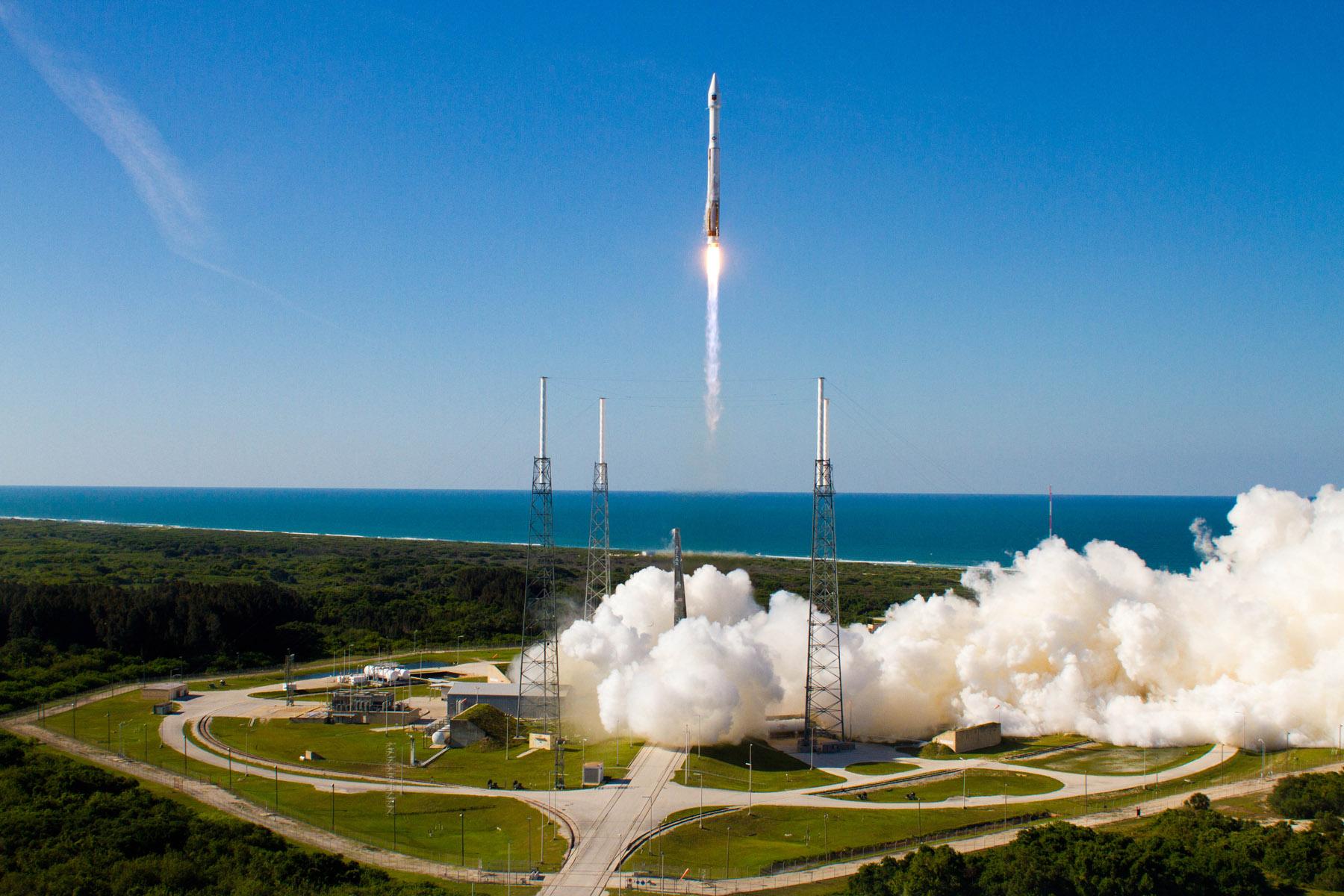 Американский космический грузовой автомобиль Cygnus прибыл кМКС
