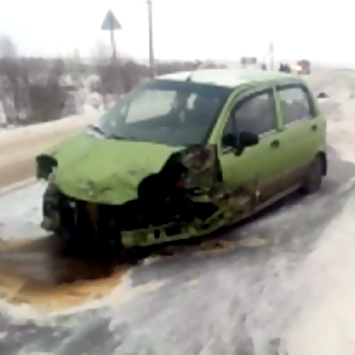 ВБессоновском районе VW вылетел вкювет, пострадал шофёр