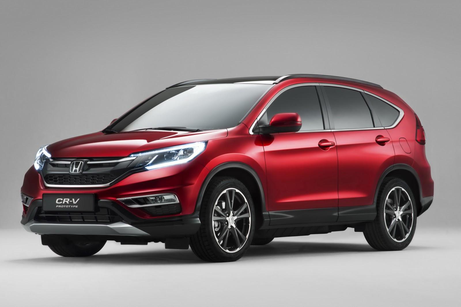 Новое поколение кроссовера Honda CR-V заметили на тестах в США