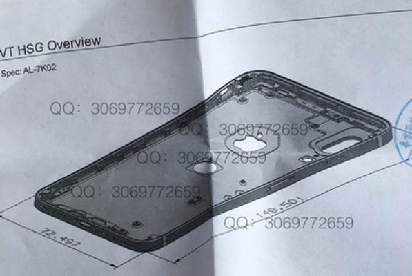 ВiPhone 8 сканер отпечатков пальцев может появится назадней панели