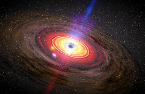 Выбросы из темных дыр нарушают законы физики искорости света— Ученые
