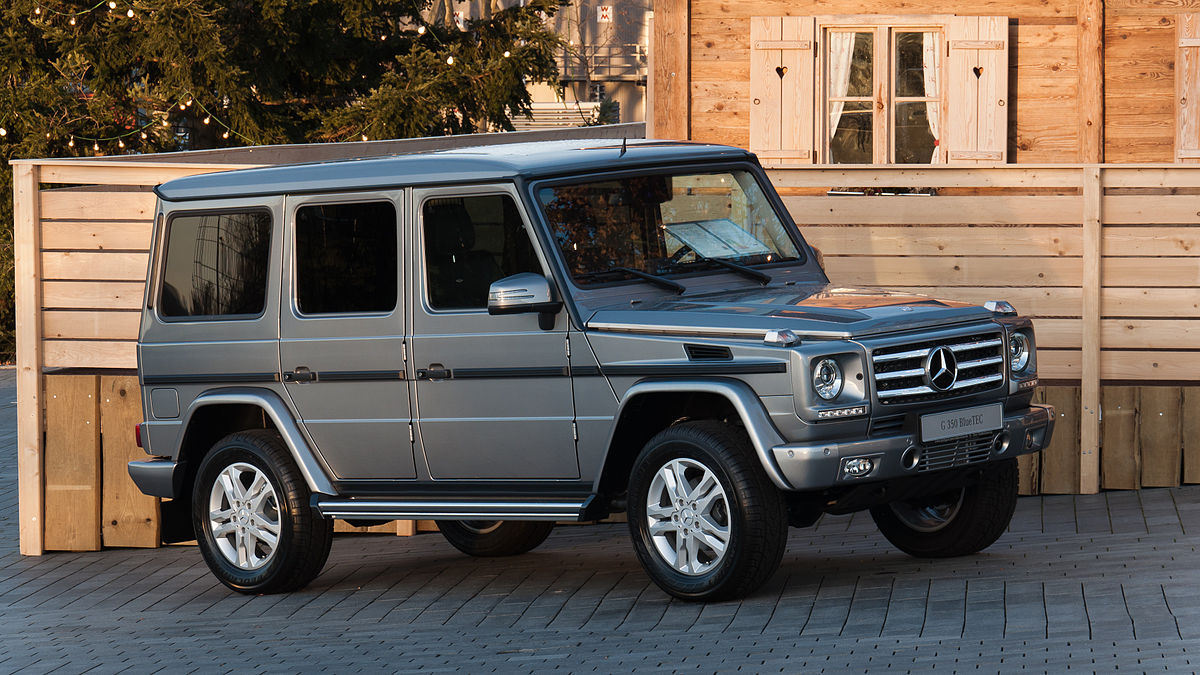 Mercedes-Benz G Class распродали до начала продаж