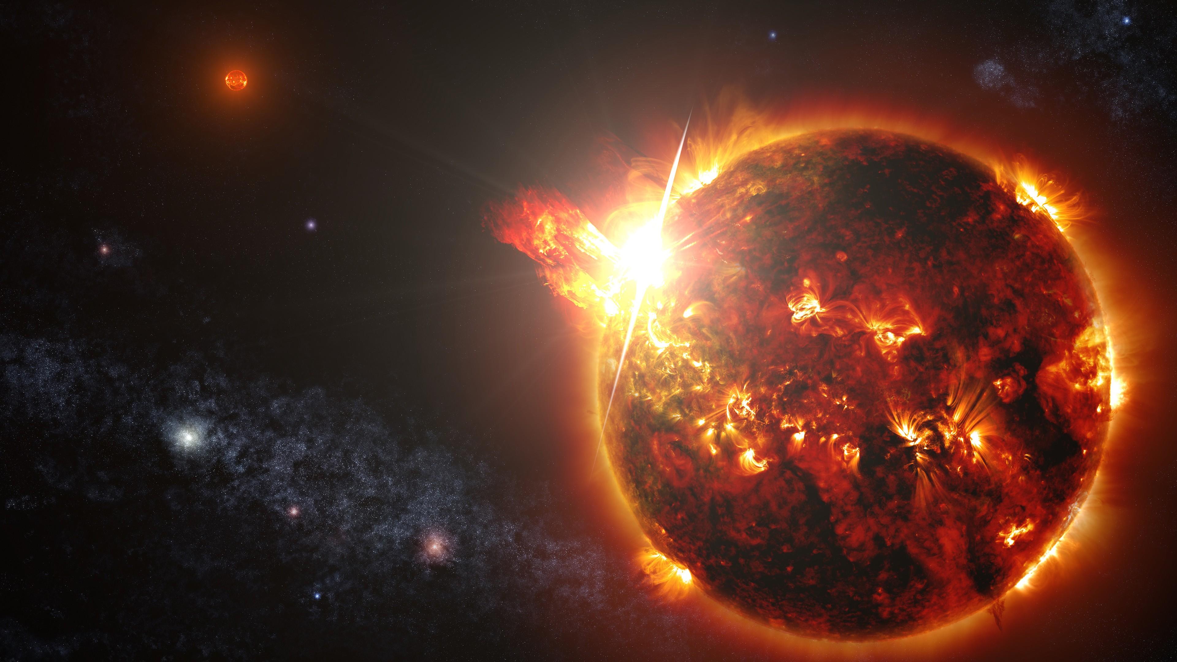 NASA зафиксировали аномальные солнечные вспышки